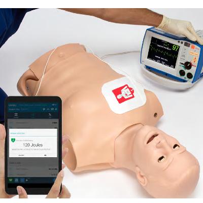 Manichino per CPR+D Training con OMNI 2